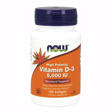 Vitamin D3 5000 IU Softgels