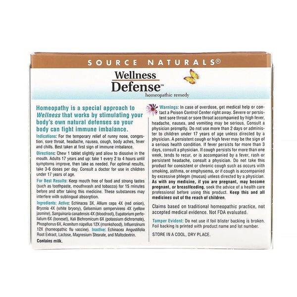 Wellness Defense - Tablets