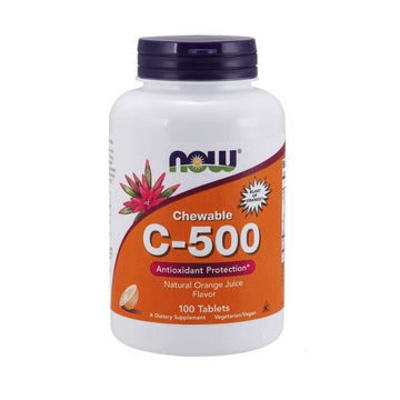 C-500 Chewable Tablets - Orange