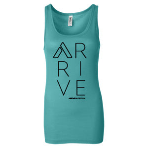 Arrive Nutrition Stacked Womens Tank Top