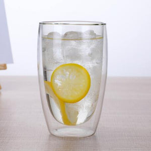 Double Wall Glass -  Heat-Resistant - Cocktail Glass - 1 Pc