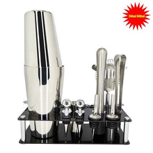 Load image into Gallery viewer, Bartender Cocktail Shaker Kit: 12 Pcs/Set 750/600ml – Stainless Steel