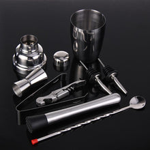 Load image into Gallery viewer, Stainless Steel Cocktail Set Bartender Kit - 8pcs/set 350ML