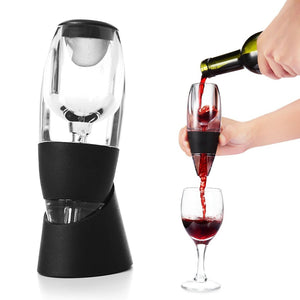 Red Wine Aerator with base