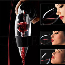Load image into Gallery viewer, Red Wine Aerator with base