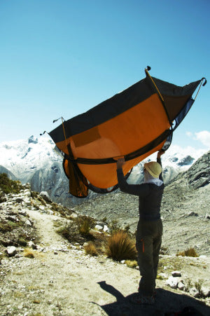 Holding Tent Backpacking Tents