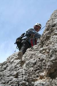 Looking Up Ferrata