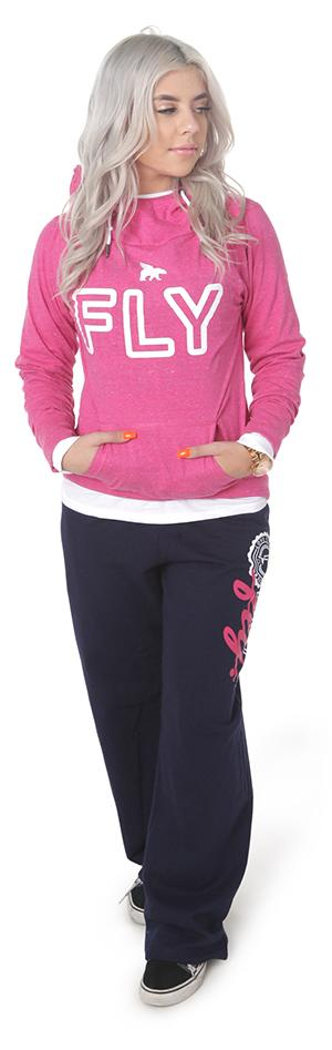 FLY LIVESTYLE Campus Outfit : Pink/Navy