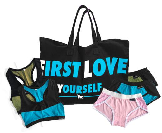 FREE BAG, BRA & UNDERWEAR Combo ($70 Value)