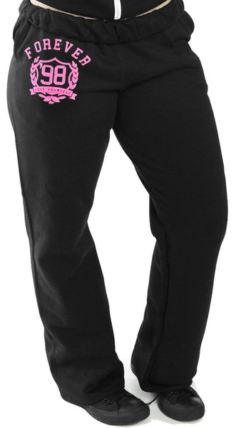 FOREVER LOVE YOURSELF Sweatpants: BLACK (UNISEX FIT)