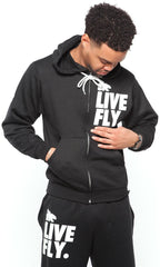 Men's LIVE FLY. SPORTS OUTFIT: BLACK