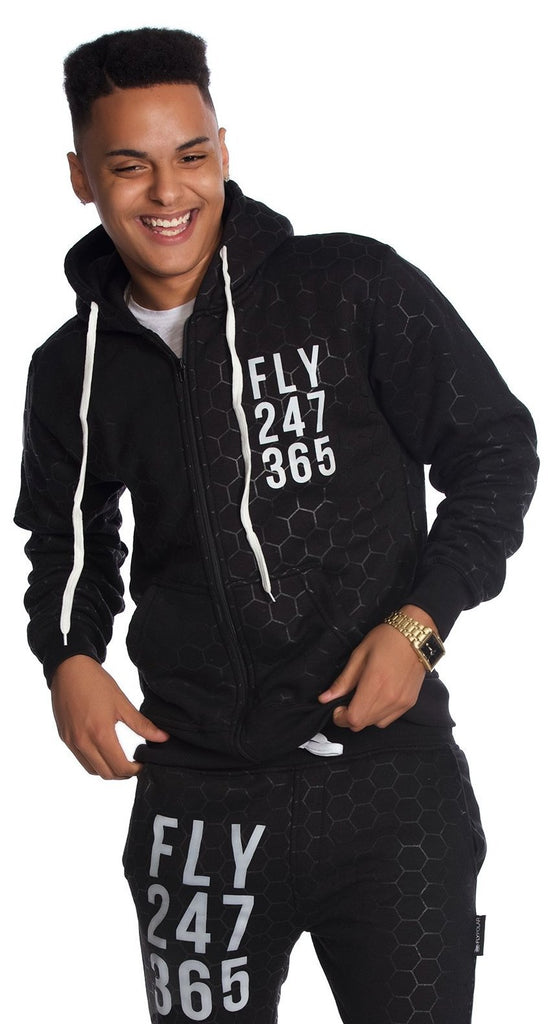 FLY 24/7 365 Zip-Up (Black)