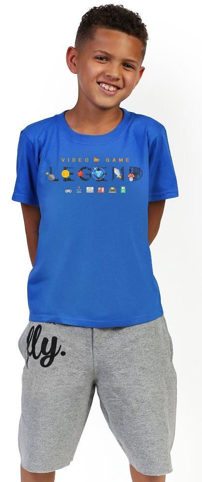 Video Game Legend Tee: Royal