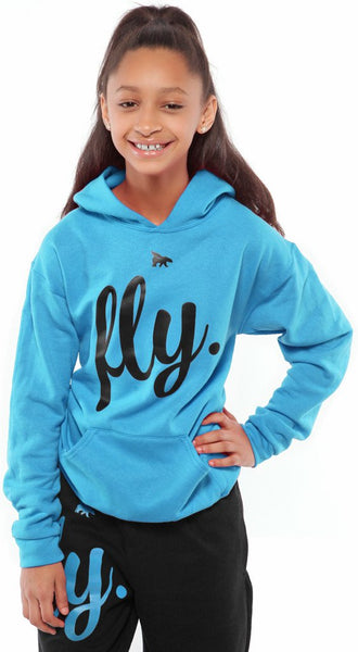 FLY. KIDS Comfort Outfit: Cali Blue/Black