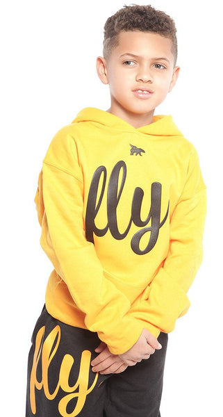 FLY. KIDS Comfort Outfit: Gold/Black