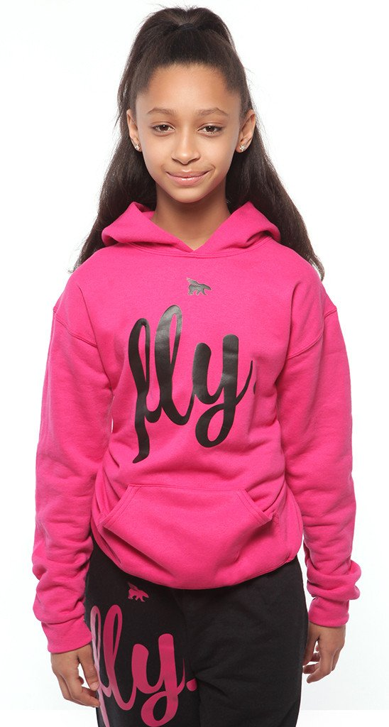 FLY. KIDS Comfort Outfit: Pink/Black