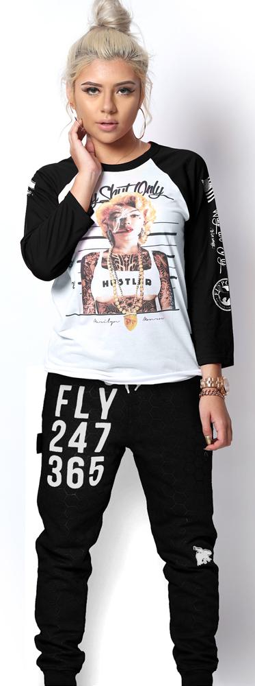 FLY 24/7 365 Joggers (Black)