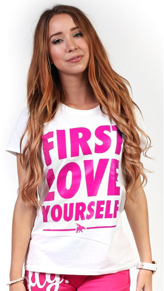 Celebrate Life - First Love Yourself Tee