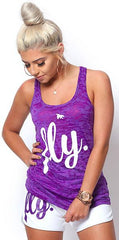 FLY. Burnout Tank: Purple