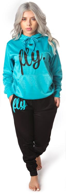 Lifestyle Comfort Hoodie OUTFIT: Cali Blue/Black