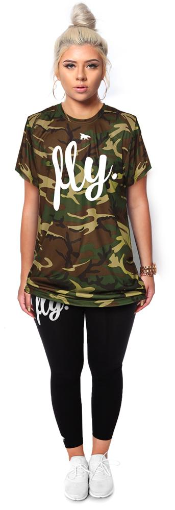 Lifestyle Camo Tee & Legging Outfit