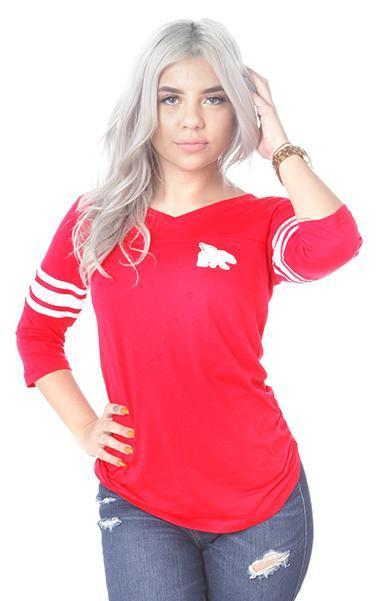 FLY Campus Sports Jersey: RED