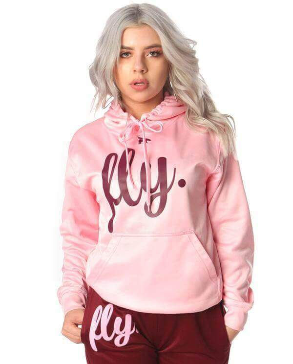 Lifestyle Comfort Hoodie: Cotton Candy Pink