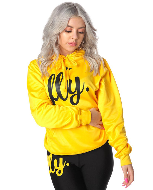 Lifestyle Comfort Hoodie: Rich Gold