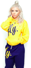FLY. Comfort Outfit: Gold/Navy (UNISEX FIT)