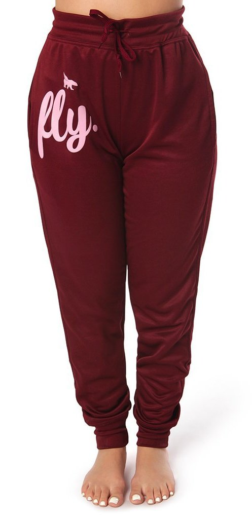 Lifestyle Feel Good Joggers: Hot Maroon
