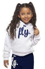 FLY. KIDS Comfort Outfit: White/Navy