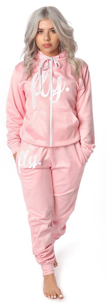Lifestyle REMIX Zip Up OUTFIT:Cotton Candy Pink