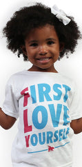 FIRST LOVE YOURSELF Kids Tee