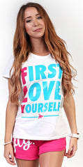 FLY. - First Love Yourself tee
