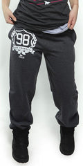 FOREVER LOVE YOURSELF Sweatpants: Dark Grey (UNISEX FIT)