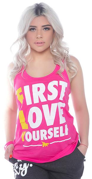 FLY. - First Love Yourself Tank: PINK