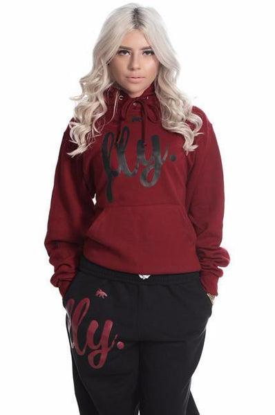 FLY. Comfort Outfit: Maroon/Black (UNISEX FIT)