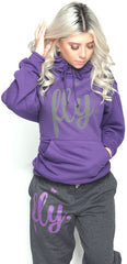 FLY. Comfort Outfit: Purple/Dark Grey (UNISEX FIT)