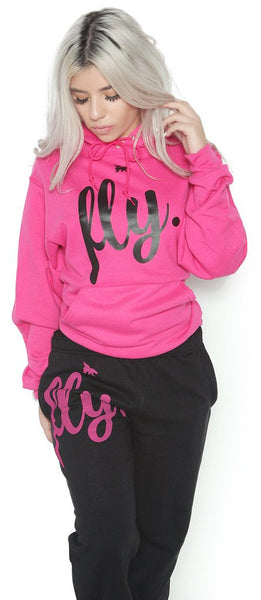 FLY. Comfort Outfit: Pink/Black (UNISEX FIT)
