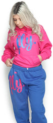 FLY. Comfort Outfit: Pink/Blue (UNISEX FIT)