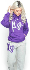 FLY. Comfort Outfit: Purple/Grey (UNISEX FIT)