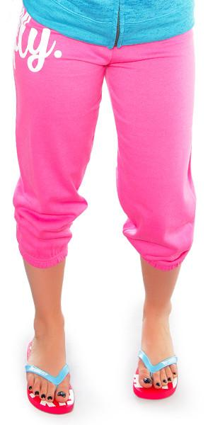 FLY. Lifestyle Capris: Pink