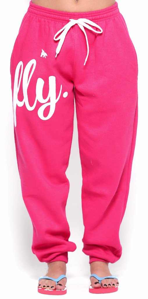 FLY. COMFORT SWEATPANTS: PINK