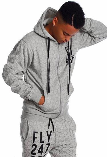 FLY 24/7 365 Zip-Up (Grey)