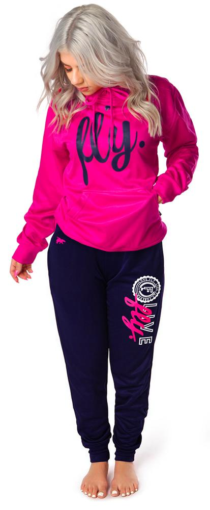 Lifestyle Collegiate OUTFIT: Very Pink/Navy Blue