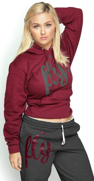 FLY. Comfort Outfit: Maroon/Dark Grey (UNISEX FIT)