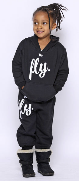 FLY. KIDS Comfort Outfit: Black/Black