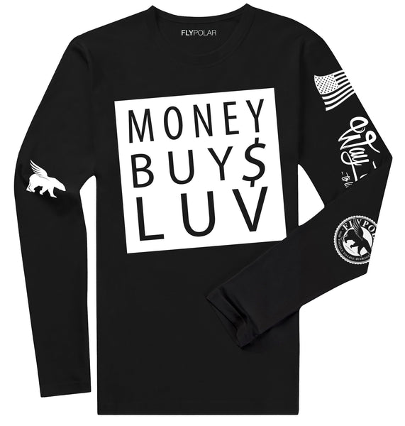 Money Buys Luv LONG SLEEVE (Black)