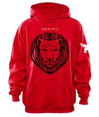 FLY Hoodies: I AM KING (red)