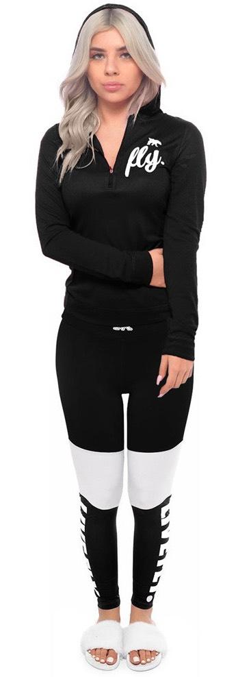 b3129c7652d ALL DAY SPORTS Half Zip Pullover  Black